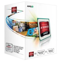 AMD A4 X2 4000 CPU, FM2, 3.2GHz, Dual Core, 65W, 1MB Cache, 32nm, Radeon HD 7480D GFX